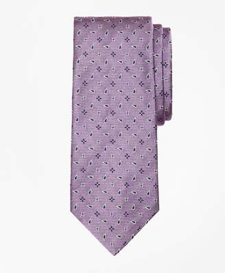 Brooks Brothers Spaced Flower and Pine Tie
