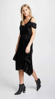 DAY Birger et Mikkelsen Jourden Crushed Velvet Layered Dress