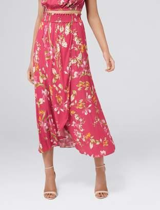 Forever New Allie Petite Co-ord Wrap Maxi Skirt - Sweet Blossom - 4