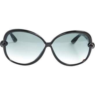 Tom Ford Navy Plastic Sunglasses