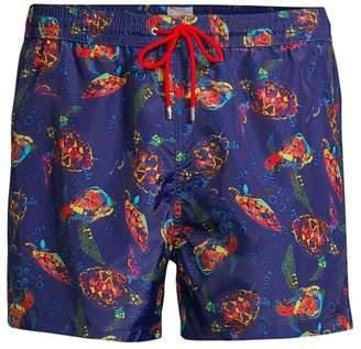 Paul Smith Turtle Print Swim Shorts
