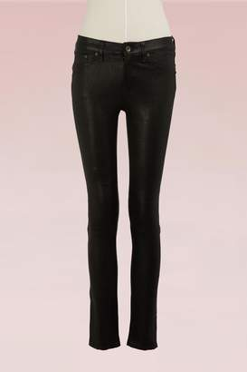 Rag & Bone Lambskin Leather Skinny LB Jeans