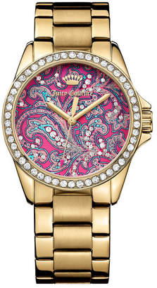 Juicy Couture Women's Laguna Crystal Bracelet Watch $275 thestylecure.com