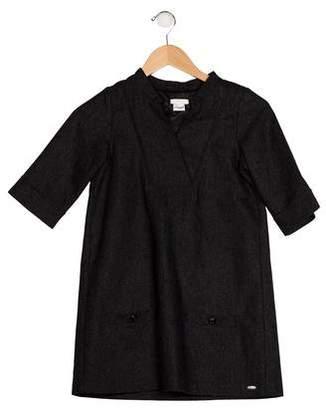 Chloé Girls' Wool Shift Dress