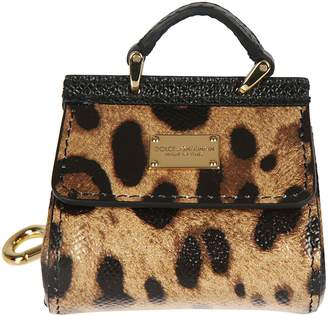 Dolce & Gabbana Leopard Keyring