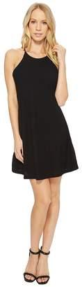 American Rose Victoria Spaghetti Strap Ribbed Dress Women's Dress