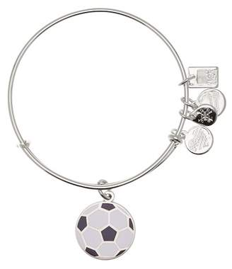 Alex and Ani Team USA Soccer Expandable Wire Charm Bracelet