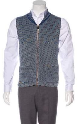 Missoni Gilet Zip Vest w/ Tags