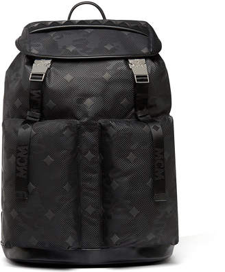MCM Kreuzberg Backpack In Textured Camo Nylon