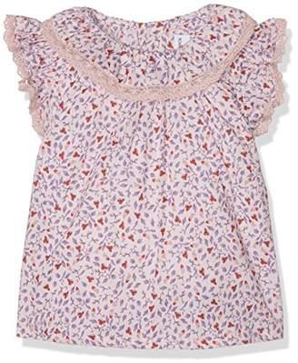 NECK & NECK Baby Boys' 17V07702.31 Little Girl's Shirt, (Medium Pink)