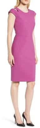 BOSS Danouk Ponte Sheath Dress