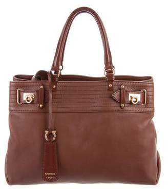 Salvatore Ferragamo Soft Leather Satchel