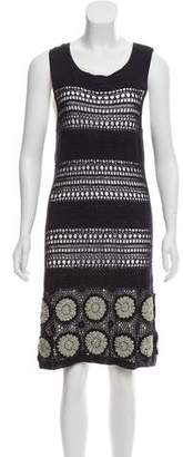 3.1 Phillip Lim Open-Knit Sleeveless Dress