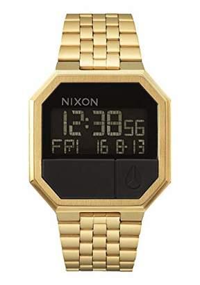 Nixon Re-Run A158502-00. Men's Digital Gold Watch (38.5mm Digital Watch Face. 13-18mm Band)