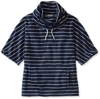 L.L. Bean L.L.Bean Sweatshirt Poncho, Stripe