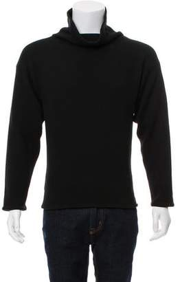 Saint Laurent Wool-Blend Turtleneck Sweater