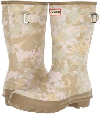 Hunter Short Flecktarn Camo Women's Rain Boots