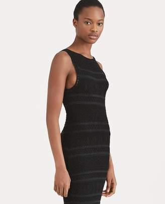 Ralph Lauren Crocheted Cotton Sheath Dress