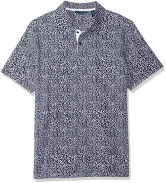 Perry Ellis Men's Printed Polo Knits Shirt