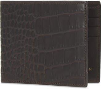 Smythson Mara leather card wallet