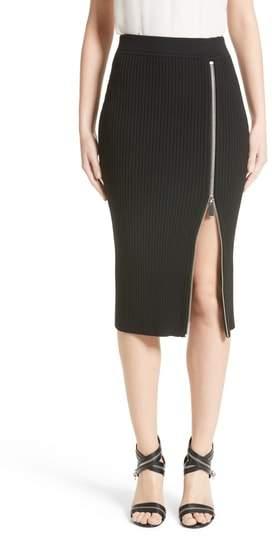 Women's Michael Kors Zip Slit Pencil Skirt