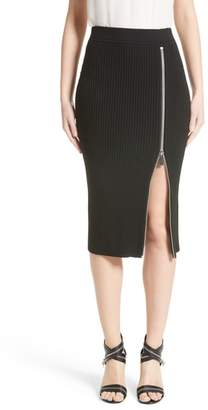 Michael Kors Zip Slit Pencil Skirt