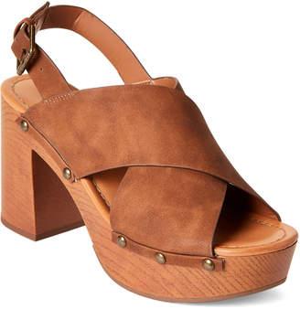 Indigo Rd Cognac Dani Platform Sandals