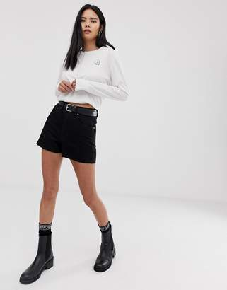 Cheap Monday Donna denim mom shorts
