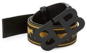 Bally Animal Reversible Logo Belt
