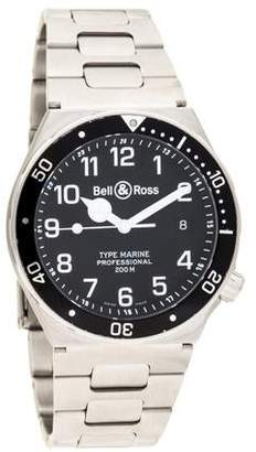 Bell & Ross Type Marine Watch