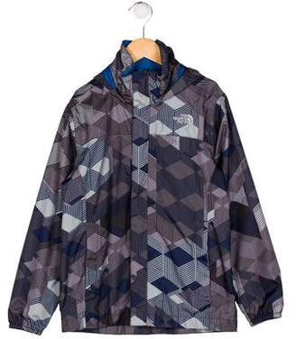 The North Face Boys' Printed Windbreaker Jacket