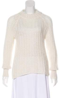Anine Bing Mohair-Blend Knit Sweater
