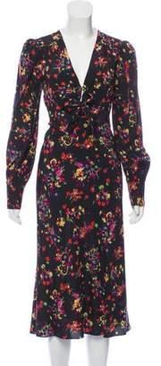 Veronica Beard Amber Midi Dress w/ Tags