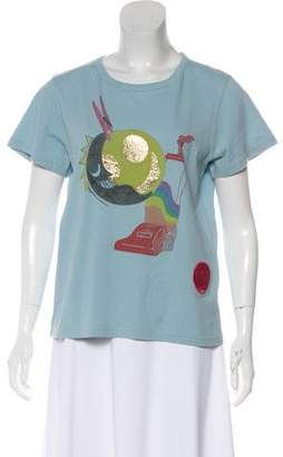 Marc Jacobs Short Sleeve Graphic Print T-Shirt w/ Tags