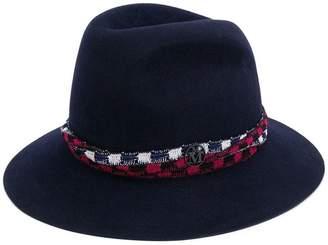 Maison Michel trilby hat