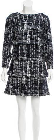 ChanelChanel Tiered Mini Skirt