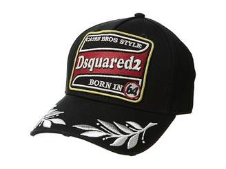 DSQUARED2 Embroidered/Patch Baseball Cap