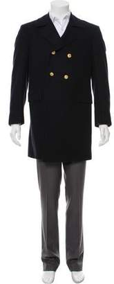 Thom Browne Cashmere Double-Breasted Coat