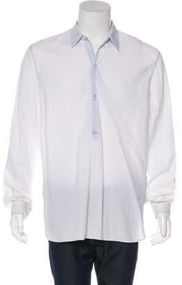 Maison Margiela Pullover Woven Shirt