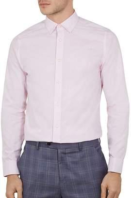0344cfa5f Ted Baker Lionn Jacquard Phormal Slim Fit Shirt