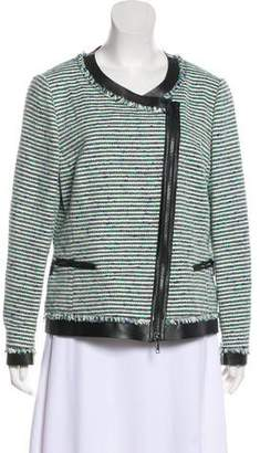Lafayette 148 Embroidered Casual Jacket
