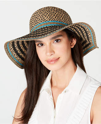 INC International Concepts Inc Striped Floppy Hat