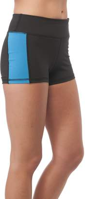 Hollywood Star Fashion Solid Poly Spandex Active Wear Shorts (ediu, )