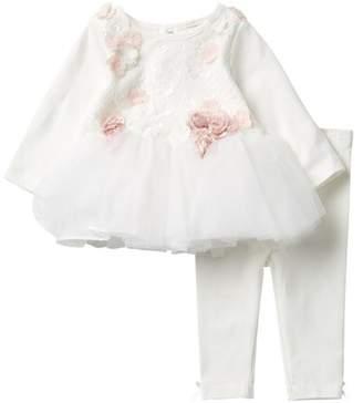 Miniclasix Tutu Top & Legging Set (Baby Girls)