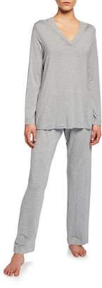Hanro Champagne Pajama Set