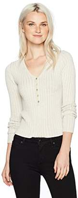 Obey Women's Mazzy V-Neck Sweater