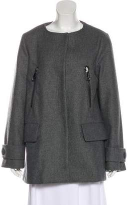 Moncler Virgin Wool Casual Jacket