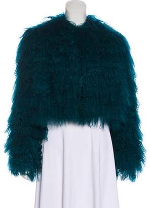 Trilogy Fur Long Sleeve Jacket w/ Tags