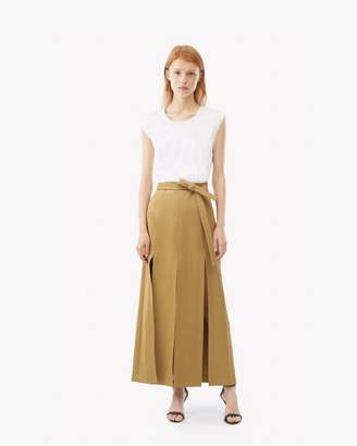 3.1 Phillip Lim Muscle Tee Combo Sateen Dress