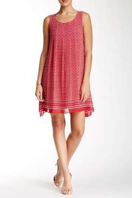 Max Studio Printed Sleeveless Dress